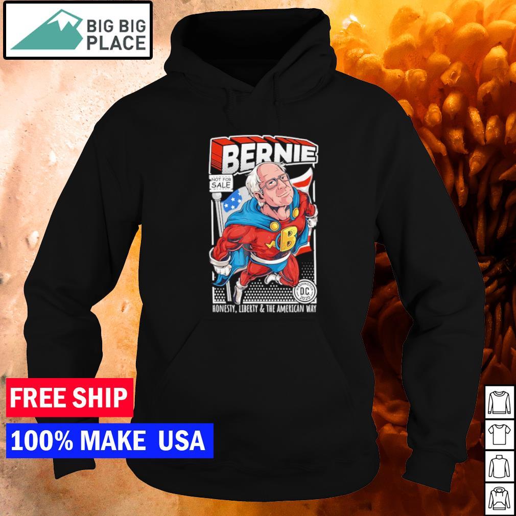 Superman Bernie Sanders honesty liberty and the American way s hoodie