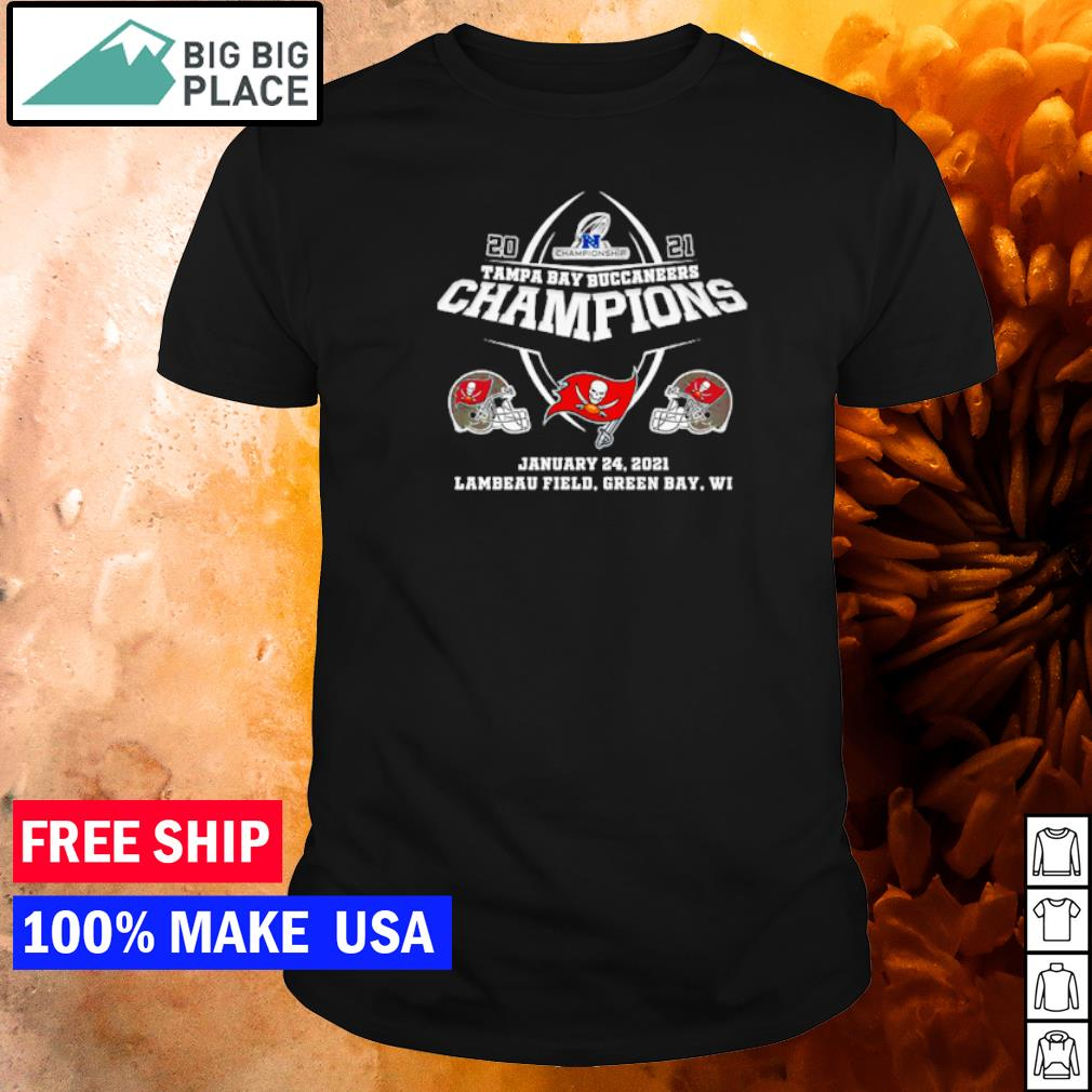 Tampa Bay Buccaneers 2021 Champiopns january 24 shirt