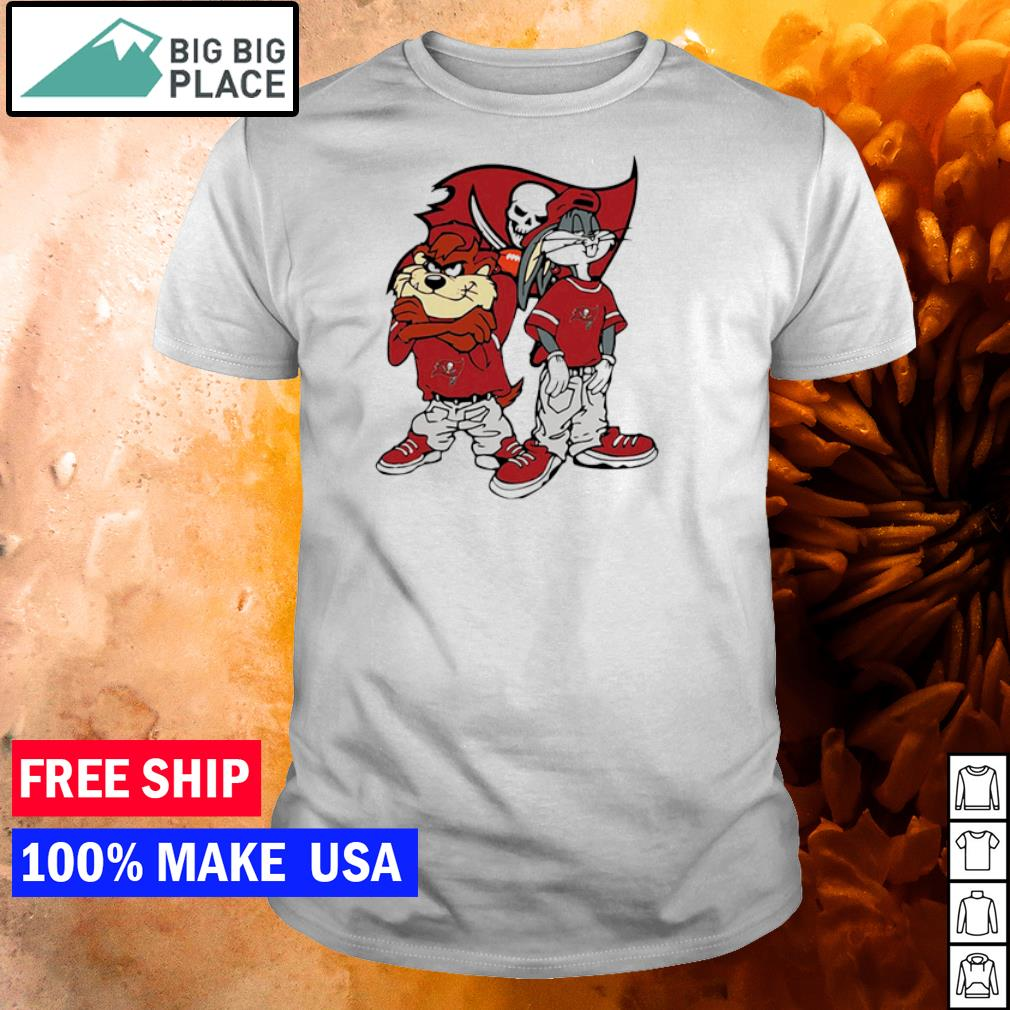 Tampa Bay Buccaneers Looney tunes hip hop shirt