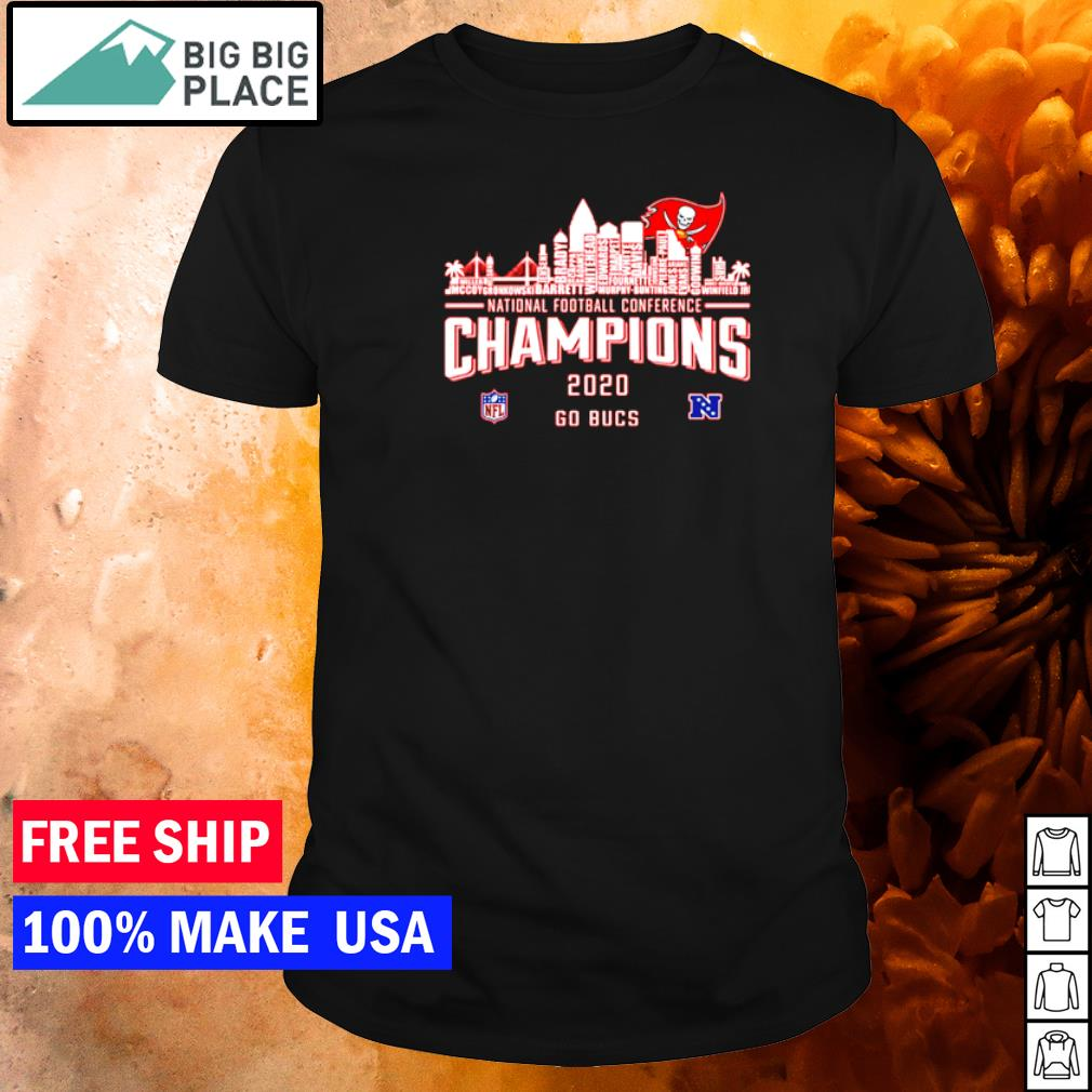 Tampa Bay Buccaneers National Conference Champions 2020 go Bucs shirt