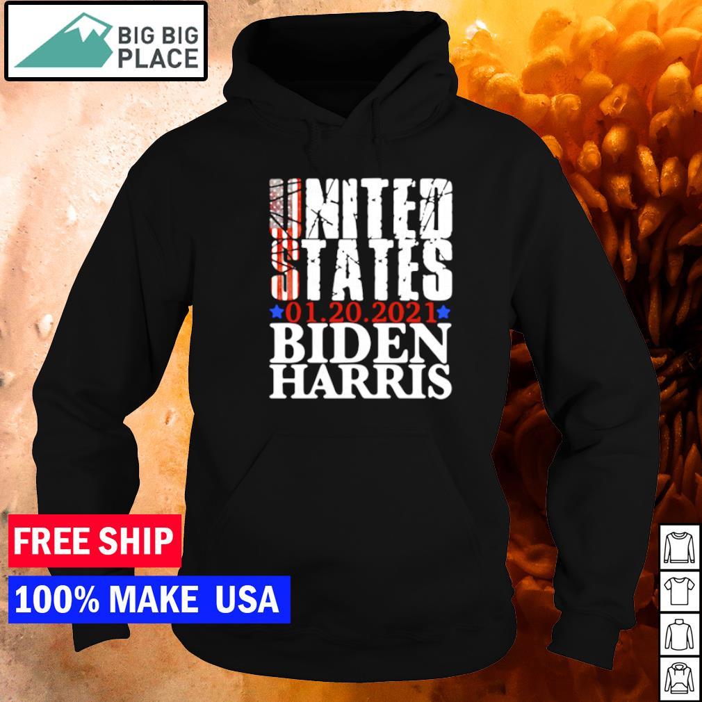United States 01.20.2021 Biden Harris inauguration day s hoodie