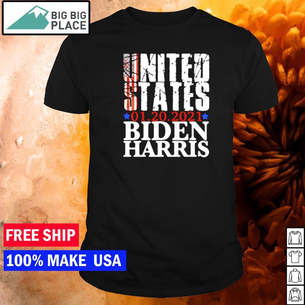 United States 01.20.2021 Biden Harris inauguration day shirt