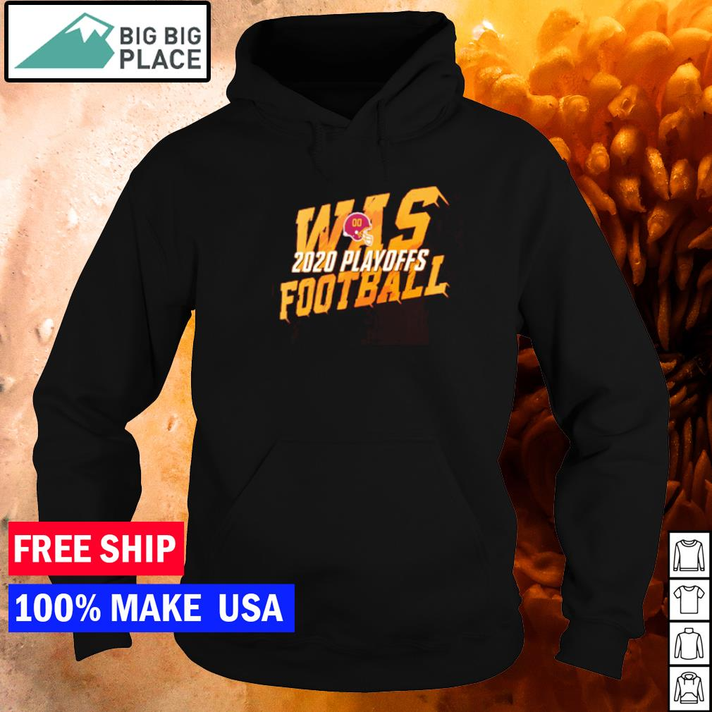 WAS Washington Football 2020 playoff s hoodie